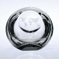 glass-globe dome paperweight