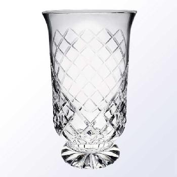 glass-tall hurricane vase