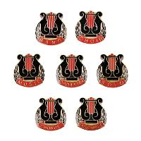stock lapel pin-music series