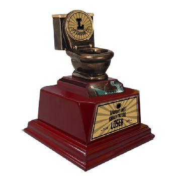trophy-toilet bowl trophy