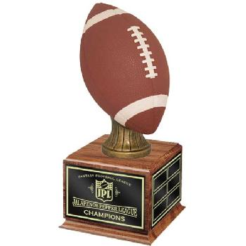 fantasy-football league championship resin