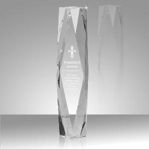 Glass Premier Crystal Pillar