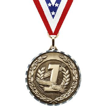 medal-diamond cut series-place