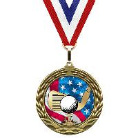 medal-flag mylar series-golf