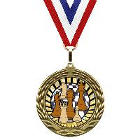 medal-sunburst mylar series-chess