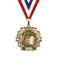 medal-ten star series-band