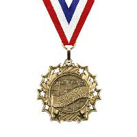 medal-ten star series-perfect attendance