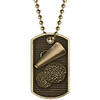 medal-3D dog tag-cheer