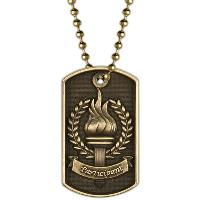 medal-3D dog tag-participation
