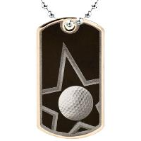 medal-dog tag-golf