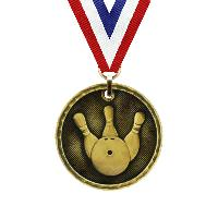 medal-3d medal series-bowling