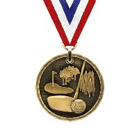 medal-3d medal series-golf