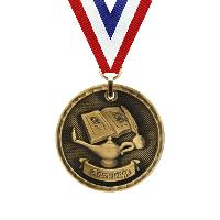 medal-3d medal series-lamp of knowledge