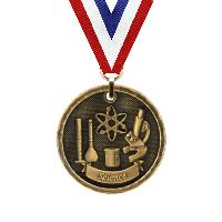 medal-3d medal series-science