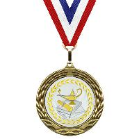 medal-metallic mylar series-lamp