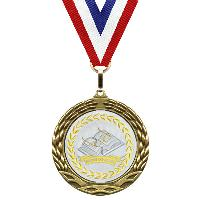 medal-metallic mylar series-reading