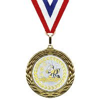 medal-metallic mylar series-spelling bee