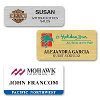 name badge-sublimated full color