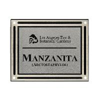 plaque-cast aluminum-silver