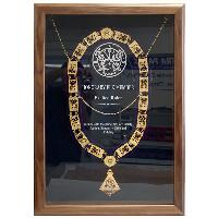 plaque-shadow box
