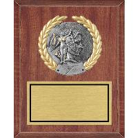 plaque-wreath mount medallion
