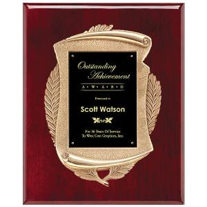 plaque-premium scroll