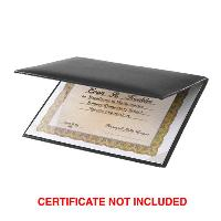 plaque-padded certificate holder