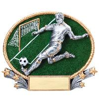 resin-soccer 3d series