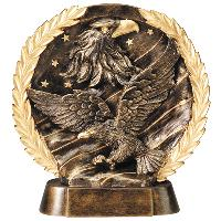 resin-eagle relief series