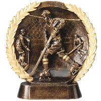 resin-hockey relief series