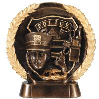 resin-police relief series