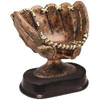 resin-softball glove
