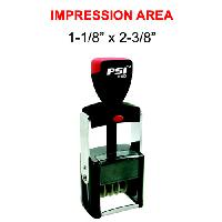 rubber stamps-psi dater stamp mx-01857