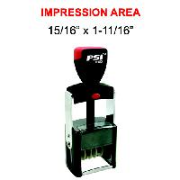 rubber stamps-psi dater stamp mx-01852