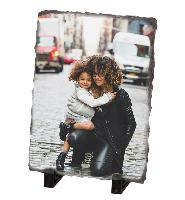 stone photo plaque-rectangular