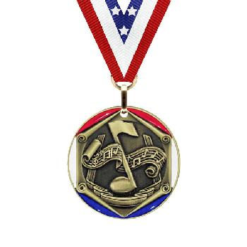 medal-tricolor series-music