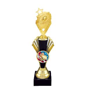 trophy-lux mylar series-football