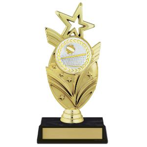 trophy-star mylar series-volleyball