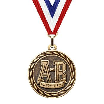 medal-scholastic series-a-b honor roll