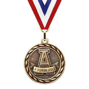medal-scholastic series-a honor roll