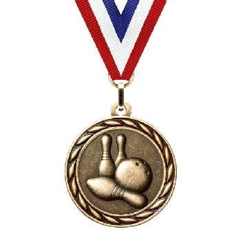 medal-scholastic series-bowling