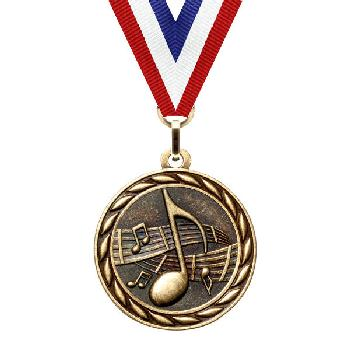 medal-scholastic series-music