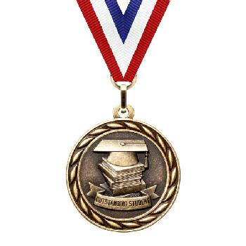 medal-scholastic series-outstanding student