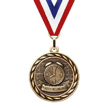 medal-scholastic series-perfect attendance