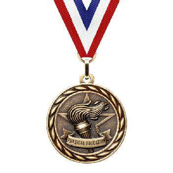 medal-scholastic series-physical education