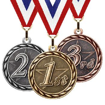 medal-scholastic series-place