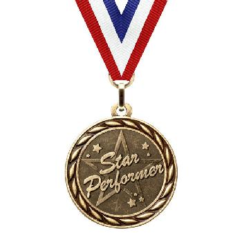 medal-scholastic series-star performer